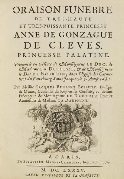 BOSSUET (Jacques-Bénigne).