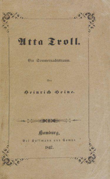 HEINE (Heinrich).