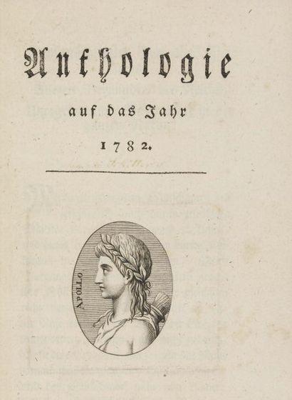 [SCHILLER (Friedrich von)].