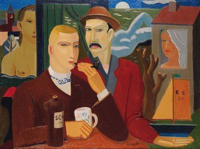 EDGARD SCAUFLAIRE (1893-1960)