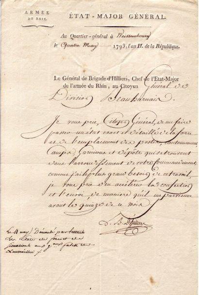 BARAGUEY D'HILLIERS, Louis (1764-1813)