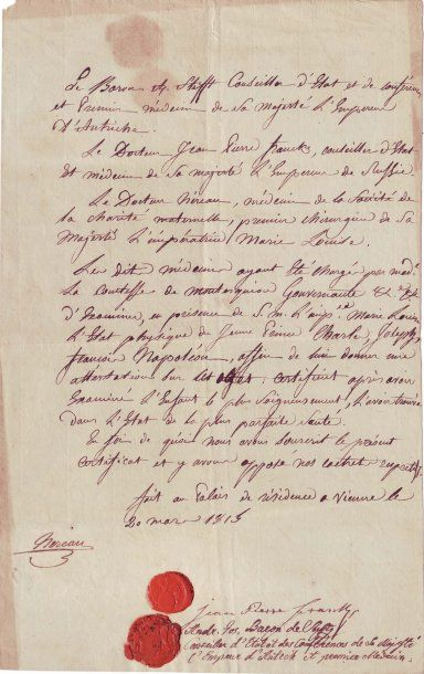 AIGLON en 1815,