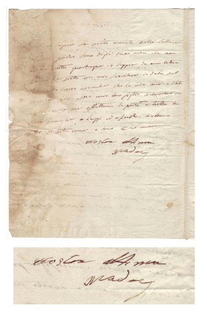 BONAPARTE, Letizia Ramolino (1749-1836)