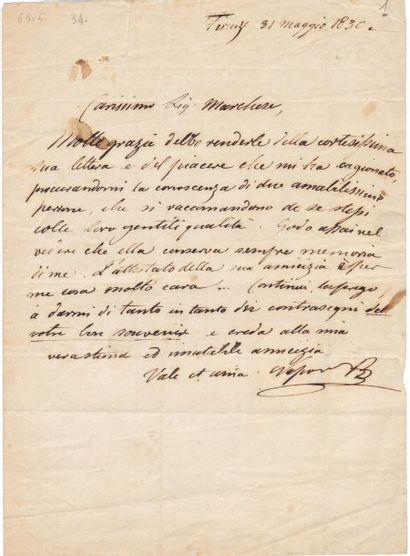 BONAPARTE Napoléon-Louis (1804-1831)