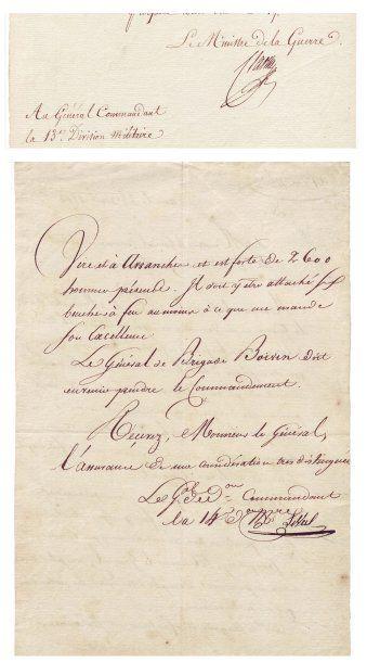 CLARKE Henri-Jacques-Guillaume (1765-1818)