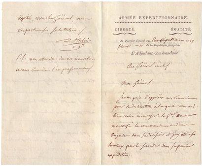 [Saint-Domingue] ARBOIS DE JUBAINVILLE Joseph-Louis (1764-1803)