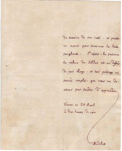 AUTRICHE 1809, Campagne d'.