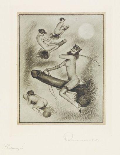 REUNIER, EUGÈNE [PSEUDONYME DE CARL BREUER COURTH, ARTISTE ALLEMAND, 1884-1960]