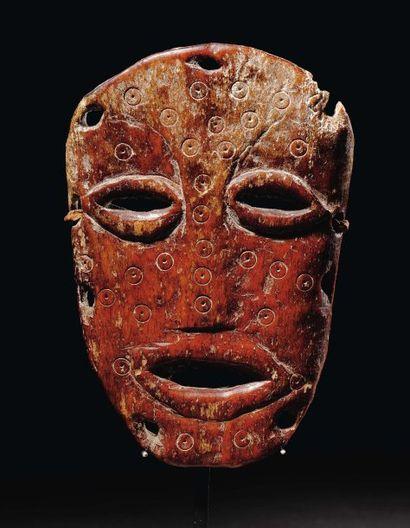 MASQUE LEGA Congo, Os Le visage piriforme...