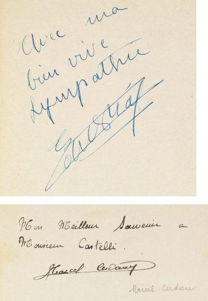ALBUM AMICORUM - ALGER 1941-1949. Recueil...