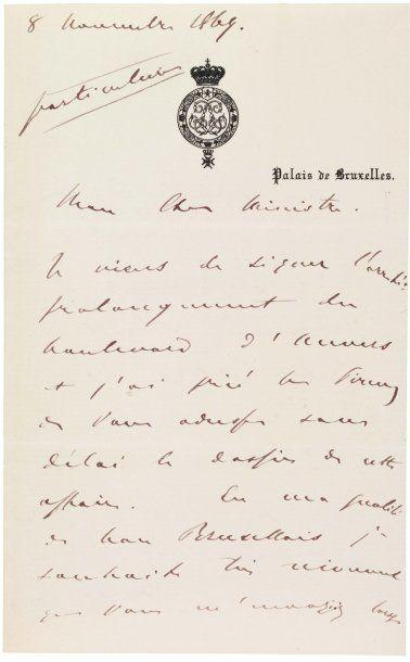 BELGIQUE, LÉOPOLD II DE (1835-1909)