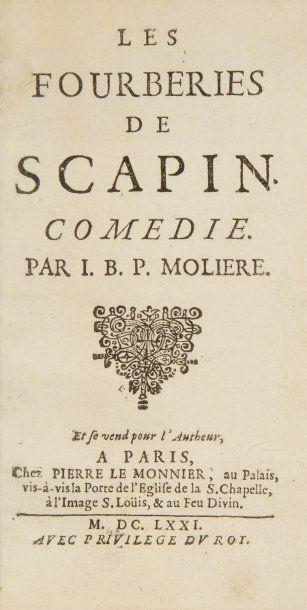 MOLIÈRE, [Jean-Baptiste Poquelin].