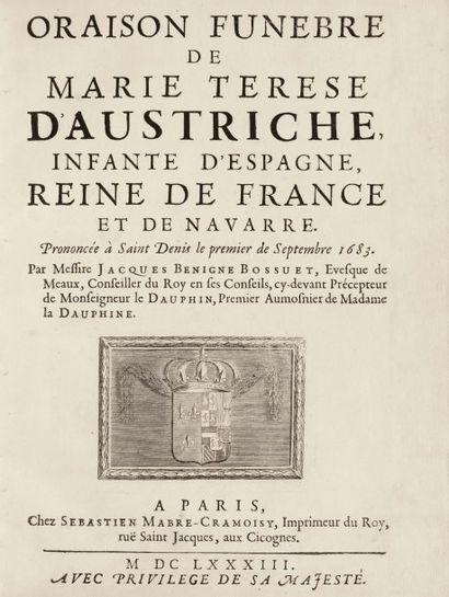 BOSSUET, Jacques Bénigne.