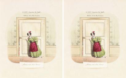 [ARRONDISSEMENTS de PARIS] 12 lithographies...