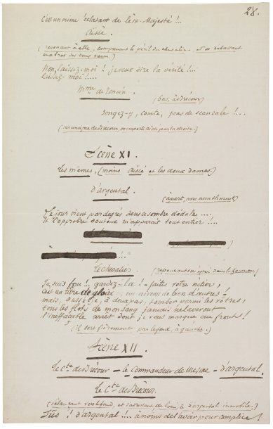 [Flaubert] BOUILHET LOUIS (1824-1869) Auteur dramatique, ami de Gustave Flaubert...