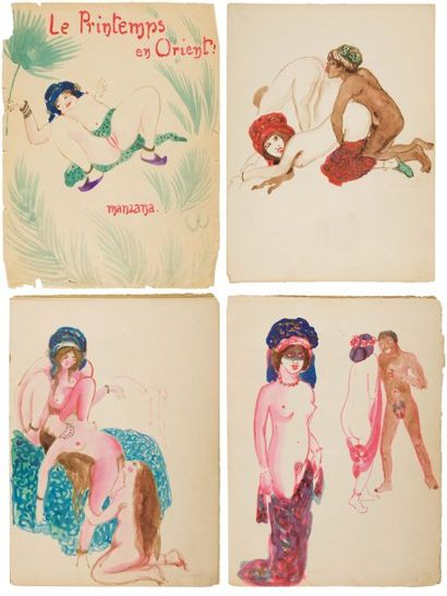 MANZANA PISSARO ( Georges Pissaro, dit).