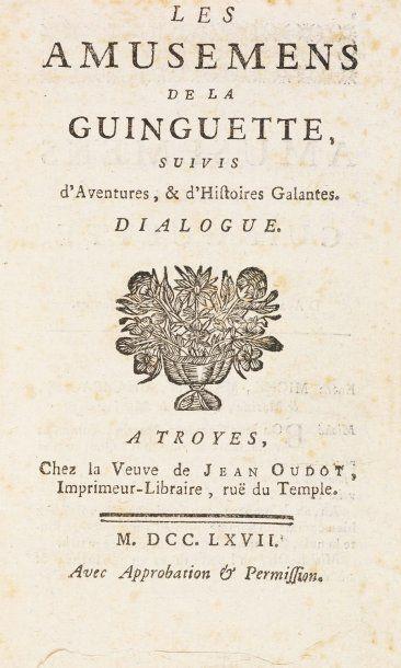 [LATOUCHE, JEAN-CHARLES GERVAISE DE, (1715 - 1782)].