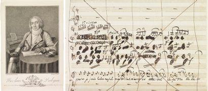 DALAYRAC, NICOLAS-MARIE D'ALAYRAC, DIT LE CHEVALIER (1753-1809) Compositeur d'opéras-comiques,...
