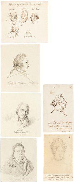 [Napoleonica] LEMASLE LOUIS (1788-1870) Peintre...