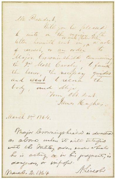 LINCOLN ABRAHAM (1809-1865)