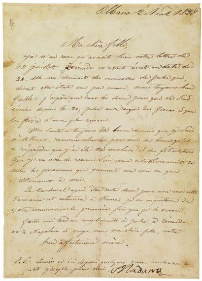 RAMOLINO-BONAPARTE LETIZIA (1749-1836) Mère de Napoléon.