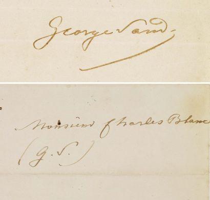 SAND GEORGE (1804-1876)