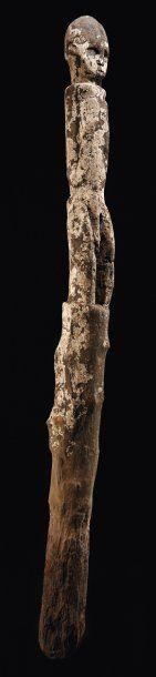 BOTCHIO, FON Bénin Bois H_157 cm Reproduit...