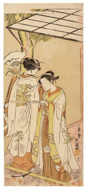 Buncho Ippitsusai (actif 1765-1792)