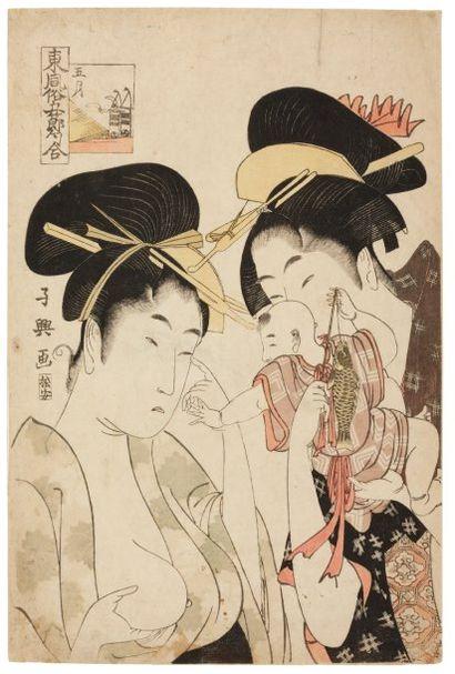 Choki Eishosai (actif 1786-1808)