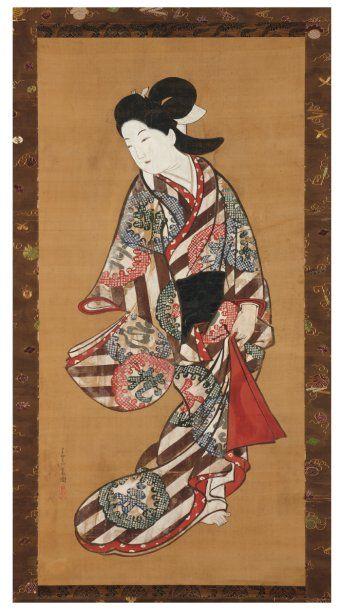 Choshun miyagawa (nagaharu) (1683-1753)