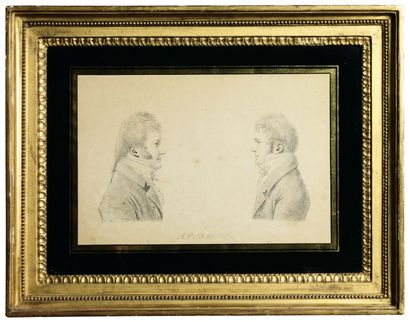 LITHOGRAPHIE représentant le portrait du...