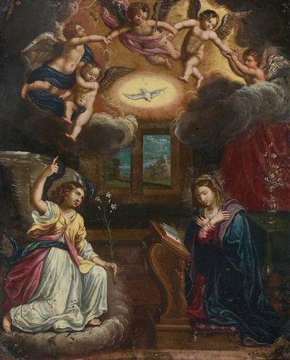 ATTRIBUÉ À HENDRICK DE CLERCK (1570-1629)