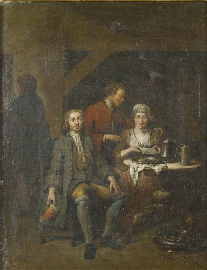 JAN BAPTIST LAMBRECHTS (ANVERS 1680-APRÈS 1731)