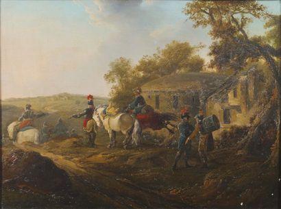 ATTRIBUÉ À FRANCESCO CASANOVA (1727-1802)