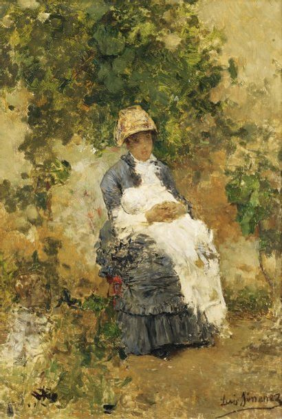 LUIS JIMENEZ Y ARANDA (SÉVILLE 1845-PONTOISE 1928)