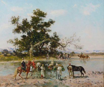 GEORGES WASHINGTON (MARSEILLE 1827-PARIS 1910)