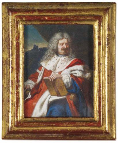 ECOLE FRANÇAISE DU DÉBUT DU XVIIIe SIÈCLE.