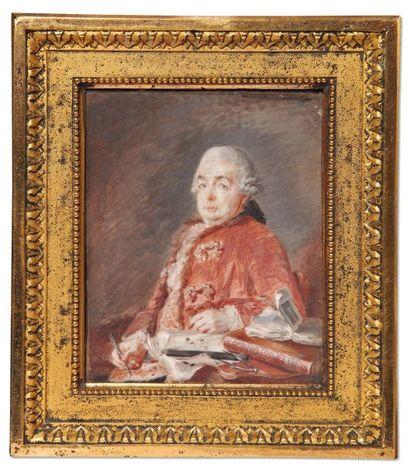 P. CHARPENTIER (ÉCOLE FRANÇAISE DU XVIIIe siècle)