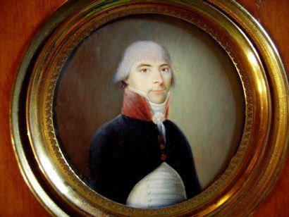ECOLE FRANÇAISE VERS 1790.
