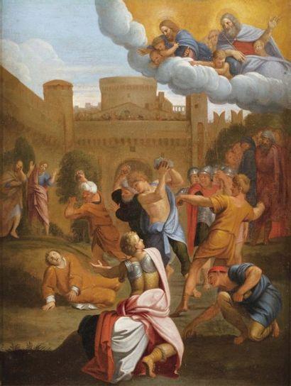 ECOLE ITALIENNE DU XVIIe SIÈCLE, ATELIER DU DOMINIQUIN.