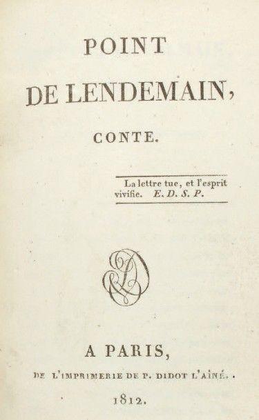 [DENON, Dominique-Vivant, baron.]