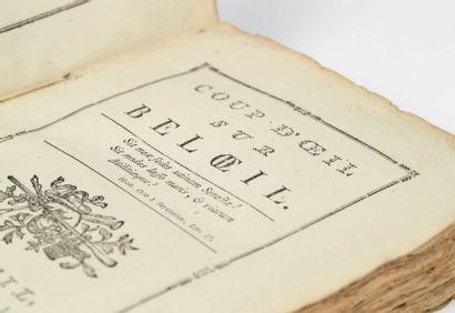 [LIGNE, Charles Joseph, prince de.] Coup d'oeil sur Beloeil. A Beloeil, de l'Imprimerie...
