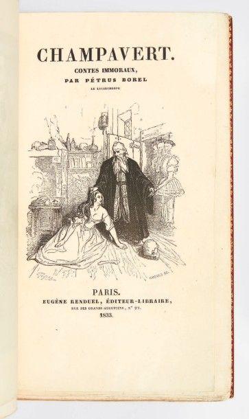 BOREL, Pierre Borel d'Hauterive, dit Petrus
