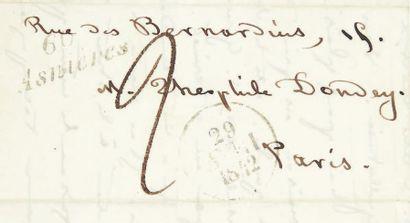 BOREL, Pierre Borel d'Hauterive, dit Petrus Champavert. Contes immoraux. Paris, Eugène...
