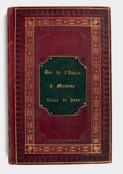 [LAMARTINE, Alphonse de.]