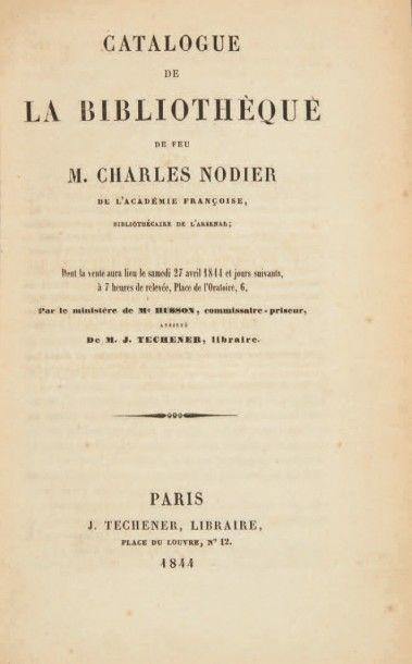 NODIER, Charles & Joseph TECHENER