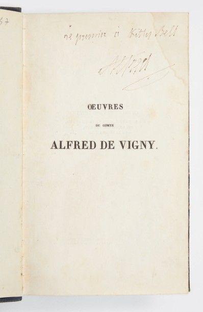 VIGNY, Alfred de