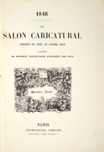 [BAUDELAIRE, Charles, Théodore de BANVILLE et Auguste VITU.]