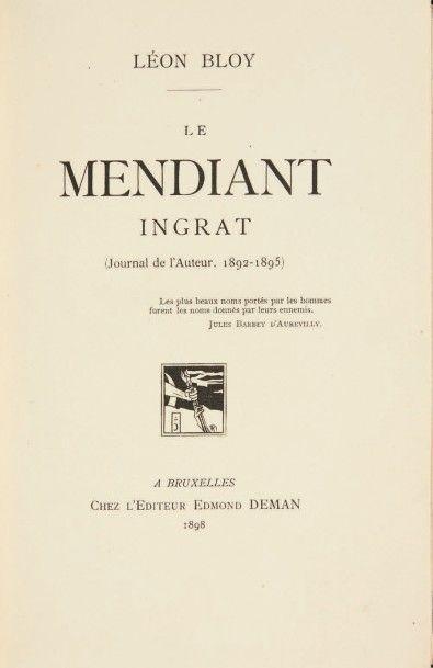 BLOY, Léon