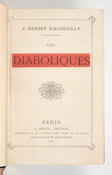 BARBEY d'AUREVILLY (Jules)